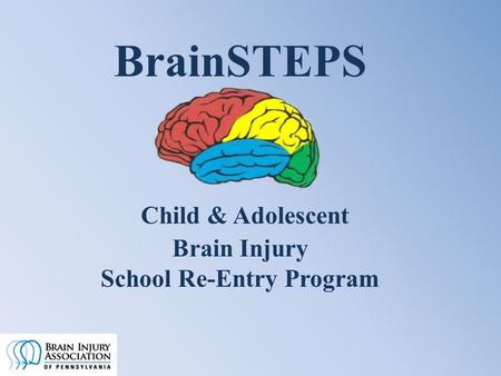 BrainSTEPS Child & Adolescent Brain Injury School Re-Entry Program.