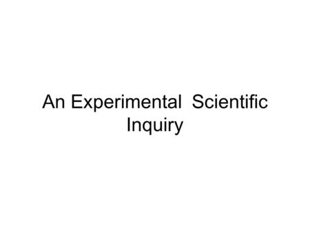 An Experimental Scientific Inquiry. Research Overview & Introduction Copyright © 2008-2010 Mindset Works, LLC. All rights reserved www.brainology.us.