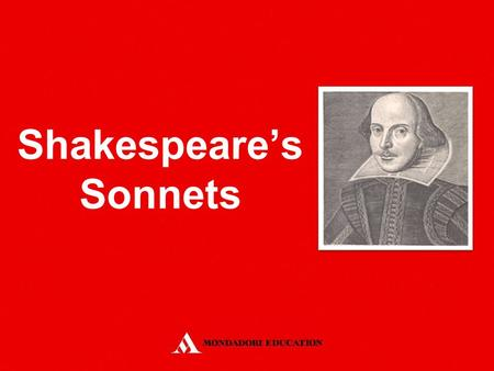 Shakespeare's Sonnets. It is a fourteen-line poem which may be variously rhymed It was introduced in England by a group of Court poets during the reign.