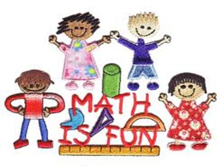 Welcome to Math Night Math for today's 1 st grade is VERY DIFFERENT from what we experienced years ago.
