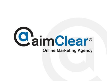 Www.aimclear.com. About aimClear® 14+ years of experience architecting advanced e-commerce and online marketing systems, Joe oversees activities for both.