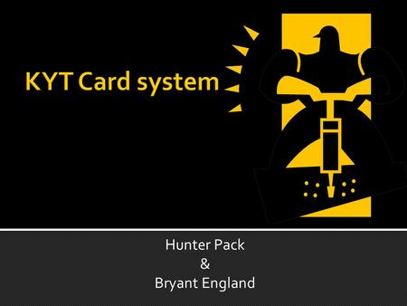 Hunter Pack & Bryant England. Each card has a different safety topic.