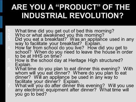advantages and disadvantages of industrialization