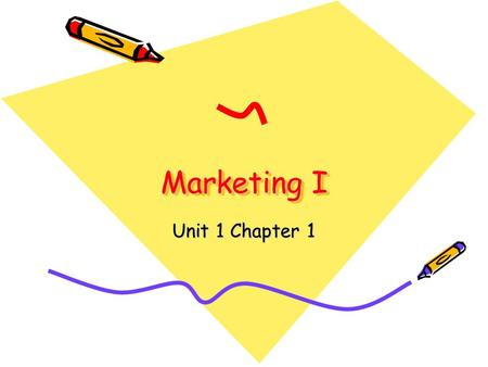 Marketing I Unit 1 Chapter 1. Christmas 2006 XBOX 360.