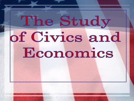 What is Civics? Civics – the study of rights, duties and responsibilities of citizens of a nation Citizen – a member of a state or nation who believes.