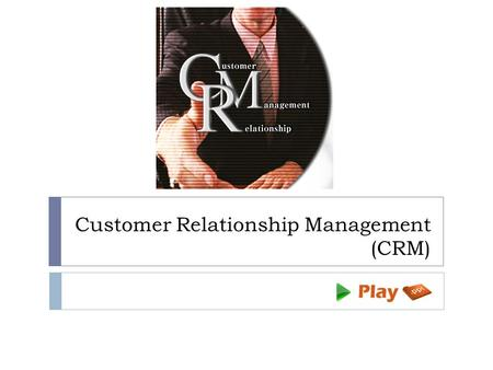 introduction to customer relationship management This one-day course will help you introduce the different facets of customer relationship management (crm) to participants it will also help you teach them how to identify who their customers really are, analyze the key components of crm, and understand how it integrates within an organization.