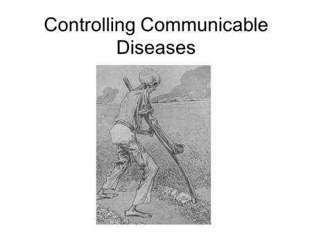 Controlling Communicable Diseases. OSHA Bloodborne Pathogens Standard 1910.1030.