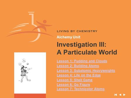 Investigation III: A Particulate World