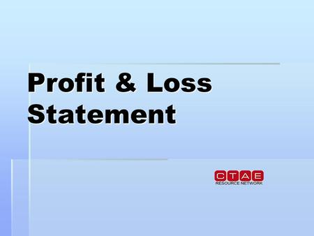 Profit & Loss Statement. A basic profit and loss statement reports the following for a specified period of time:   Sales   Expenses   Profits/losses.
