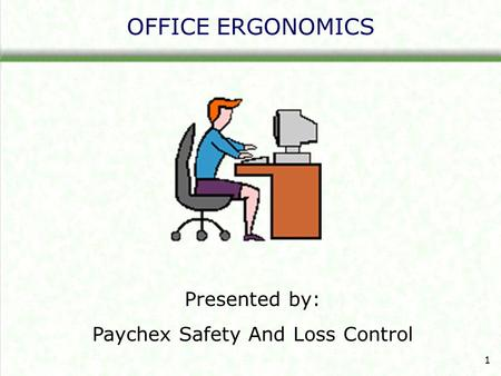 Paychex Safety And Loss Control