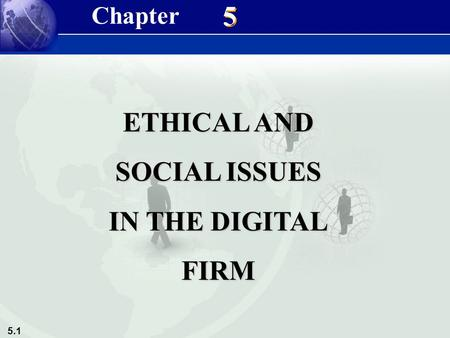1 ethical and social issues in