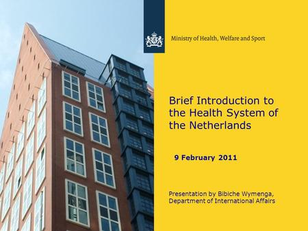 An introduction to the health system in france