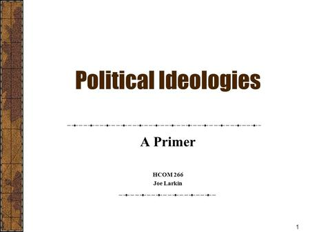 political ideologies an introduction pdf