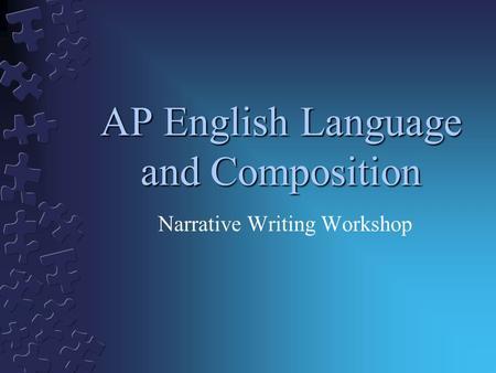 english composition narrative essay