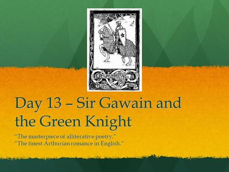 a summary of the epic poem sir gawain and the green knight by pearl poet 301 moved permanently nginx.