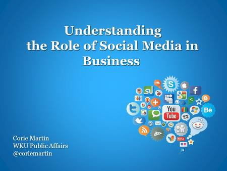 Understand the role of the social