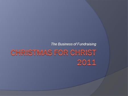 The Business of Fundraising. 5 Year CFC History in NA  YearOffering% Diff Yr% Diff 2006  2006$2,868,412.876.21%  2007$2,590,535.65(9.69%)(9.69%)