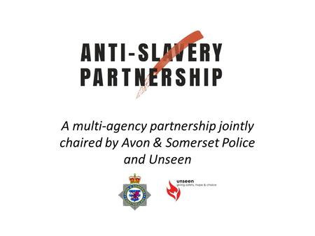 A multi-agency partnership jointly chaired by Avon & Somerset Police and Unseen.