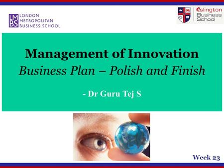 Management of Innovation