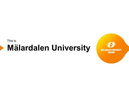 This is Mälardalen University. MDH in figures 2 1977 Mälardalen University is founded 51 programmes 1 000 courses 13 000 students 900 employees 71 professors.