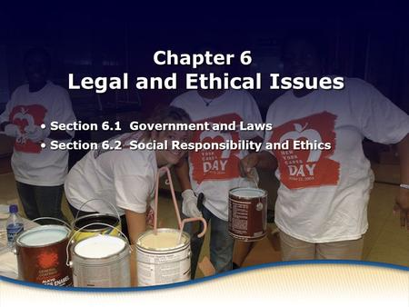 Chapter 6 Legal and Ethical Issues