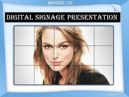 "Digital signage Presentation. Definition of Digital Signage ""A network of displays that can be remotely managed and whose business model revolves around."