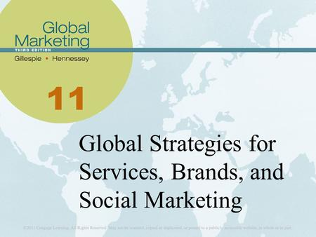 11 Global Strategies for Services, Brands, and Social Marketing.
