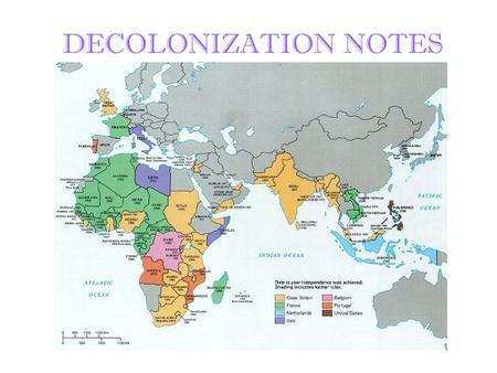Decolonization in india
