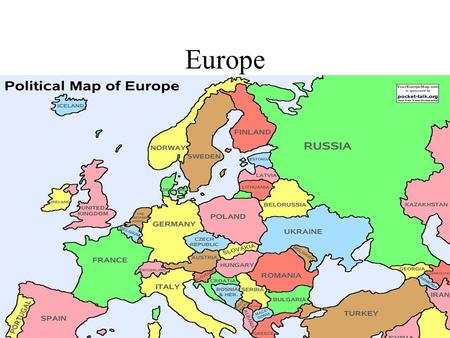 Europe. 1.1 Physical Geography Europe is made up of several peninsulas with varied land regions and climates Large Peninsula- Western Eurasian Smaller.