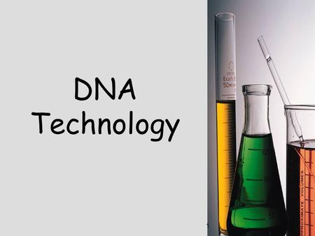 1 DNA Technology. 2 Genetic Engineering Using technology to manipulate the DNA of one organism by inserting DNA of another organismUsing technology to.