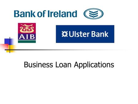 Business Loan Applications. What information will a bank require from a business loan application? Amount Required. Ability to repay Business history.