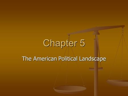 Chapter 5 The American Political Landscape. Unlike most nations, the United States has an incredibly varied mix of ethnicities from every part of the.