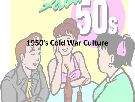 1950's Cold War Culture. Review Questions Why did the United States work to rebuild Europe and some of Asia after World War II? What is the difference.
