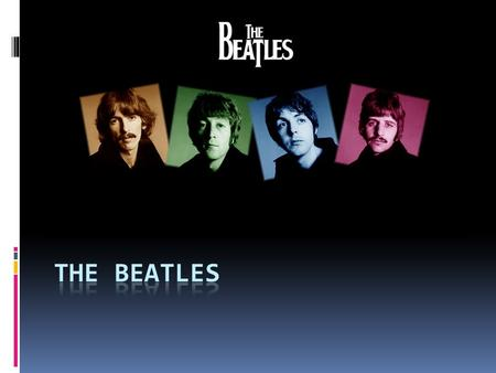 The members of the band: John Lennon Paul McCartney 1940 - 1980 1942.