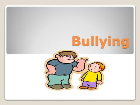 Bullying. Respect During this lesson, please follow these rules: Think to yourself Only share comments that are appropriate Please do not use the names.