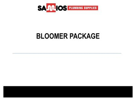 BLOOMER PACKAGE. Toilet suite Centino deluxe plastic cistern NOVN340W ---------------------------------------------------------------------------