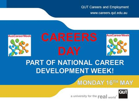 Www.careers.qut.edu.au QUT Careers and Employment.