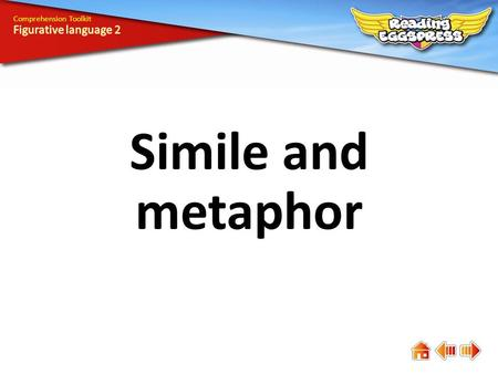 Simile and metaphor Comprehension Toolkit. Comprehension means understanding. The answers to some questions are easy to find, while the answers to others.