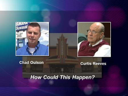 Chad Oulson Curtis Reeves How Could This Happen?.