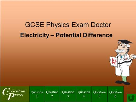 Electricity – Potential Difference