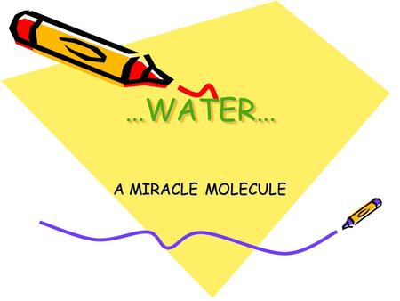 "…WATER……WATER… A MIRACLE MOLECULE. ""Do you see that Allah sends down water from the sky and forthwith the earth is covered in green? Allah is All-Subtle,"