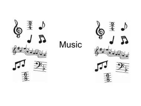 Music. 1. Which note is a whole note? A. B. C.D.