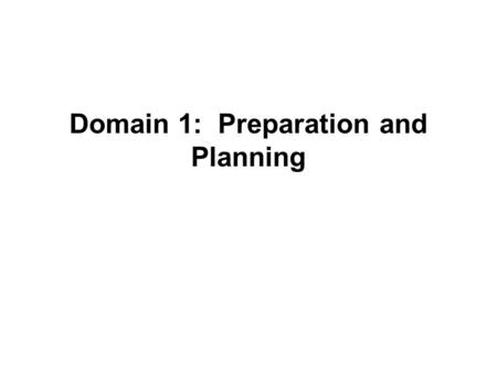 Domain 1: Preparation and Planning. ElementUnsatisfactoryBasicProficientDistinguished Knowledge of content and the structure of the discipline In planning.
