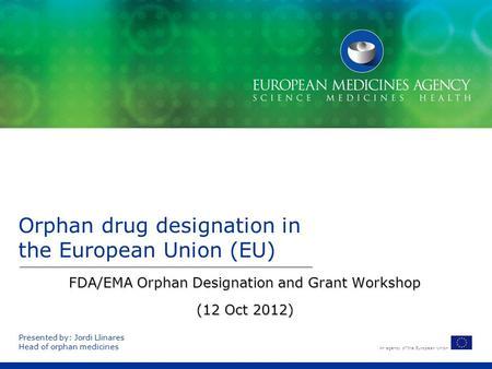 drug development in the european union case study