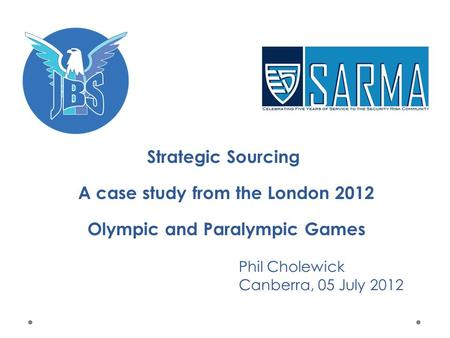 the london 2012 olympic games harvard business school