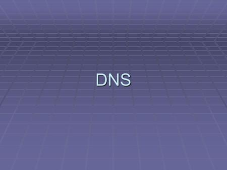 DNS. Agenda  DNS Basic  Zone Delegation  Half Class-C reverse lookup  Webmin  Tools  參考資料.