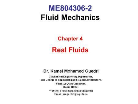 fluid mechanics pdf for mechanical engineering