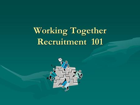 Working Together Recruitment 101 Admissions and Student Financial Services helping you to more effectively represent Rider to prospective students and.