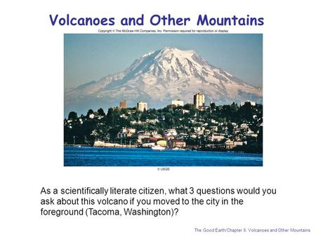 Volcanoes and Other Mountains