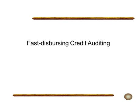 Fast-disbursing Credit Auditing 1. In Mexico, the contracting and use of resources stemming from public debt transactions are ruled by the Political Constitution.